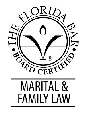 Board Certified in Marital & Family Law with the Florida Bar